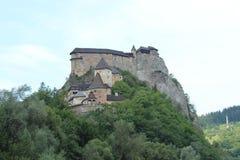 Замок Orava, Словакия стоковые фотографии rf