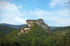 Замок ½ Oravskà Стоковое Изображение RF