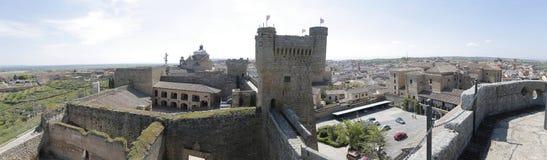 Замок Oropesa в Toledo (Испания) Стоковое Изображение