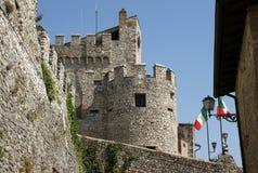 Замок Orsini в Nerola стоковые фотографии rf