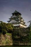 замок osaka стоковая фотография