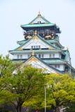 замок osaka стоковая фотография rf