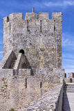 Замок Palmela, полуостров Setúbal, Португалия Стоковое фото RF