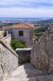 Замок Palmela, полуостров Setúbal, Португалия Стоковая Фотография