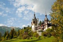 Замок Peles Стоковое Фото