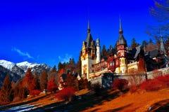 Замок Peles Стоковые Изображения RF
