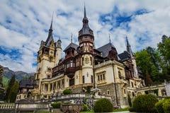 Замок Peles стоковые фото