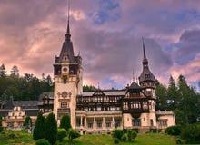 Замок Peles Стоковое Изображение