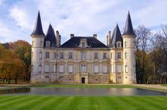 Замок Pichon Longueville стоковое изображение rf