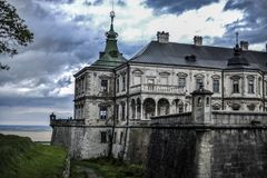 Замок Pidhirci стоковые фото
