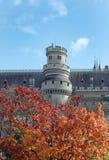 Замок Pierrefonds Стоковое Изображение RF