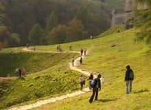 Замок Pieskowa Skala стоковое изображение rf