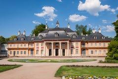 Замок Pillnitz в Дрездене, Германии Стоковые Изображения