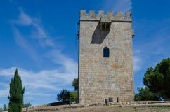 Замок Pinhel Португалия стоковое фото rf