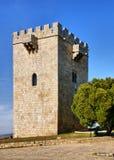 Замок Pinhel стоковая фотография