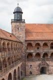 Замок Plassenburg Стоковое Изображение RF