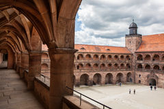 Замок Plassenburg Стоковые Изображения RF