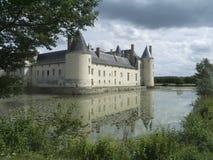 Замок Plessis Bourré стоковые фотографии rf