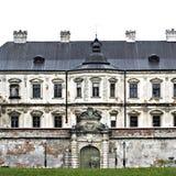 Замок Podgoretsky Элементы старого замка замок старый Стоковые Фото