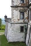 Замок Podgoretsky Элементы старого замка замок старый Стоковое Фото