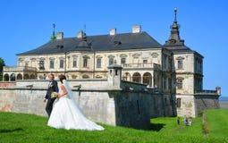 Замок Podgoretsky Стоковое фото RF