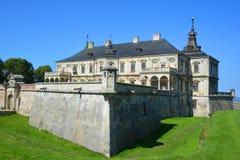 Замок Podgoretsky Стоковое Изображение RF