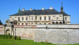 Замок Podgoretsky Стоковые Изображения RF