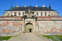 Замок Podgoretsky Стоковые Фотографии RF