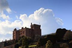 Замок Powys Стоковое Изображение RF