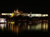 замок prague Стоковое Фото