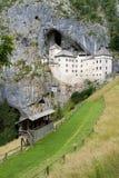 Замок Predjama, Словения Стоковое Изображение RF