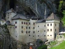 Замок Predjama Стоковое Изображение