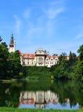 Замок Pruhonice Стоковое Изображение RF