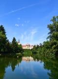 Замок Pruhonice Стоковое Изображение