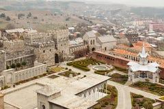 Замок Rabati в Akhaltsikhe, Georgia Стоковые Фото