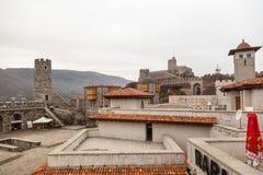 Замок Rabati в Akhaltsikhe, Georgia Стоковые Изображения
