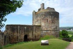 Замок Ravenscraig Стоковая Фотография