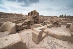 Замок Rayen, Arg-e Rayen в персиянке, Иране Стоковые Изображения