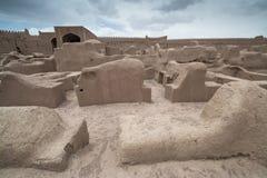 Замок Rayen, Arg-e Rayen в персиянке, Иране Стоковое фото RF