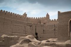 Замок Rayen, Arg-e Rayen в персиянке, Иране Стоковые Изображения RF