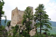 Замок Reussenstein Стоковые Изображения RF