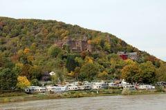 Замок Rheinstein Стоковая Фотография