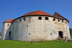 Замок Ribnik, Хорватия стоковые изображения rf
