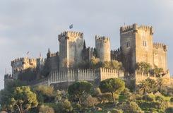 Замок rio del Almodovar, Cordoba, Испания стоковые фото