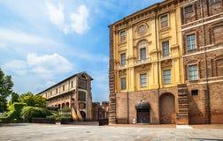 Замок Rivoli около Турина, Италии Стоковое Фото