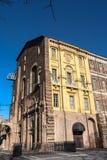 Замок Rivoli, Турина, Италии стоковые изображения rf
