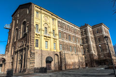 Замок Rivoli, Турина, Италии Стоковое Фото