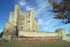Замок Rochester в Англии Стоковое Изображение RF