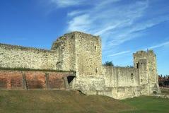 Замок Rochester в Англии Стоковые Изображения RF
