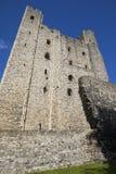 Замок Rochester в Кенте, Великобритании Стоковые Фотографии RF